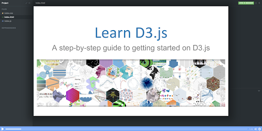 Learn to visualize data with this free D3.js course