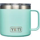 YETI Coolers Rambler Mug, Seafoam, 14 oz