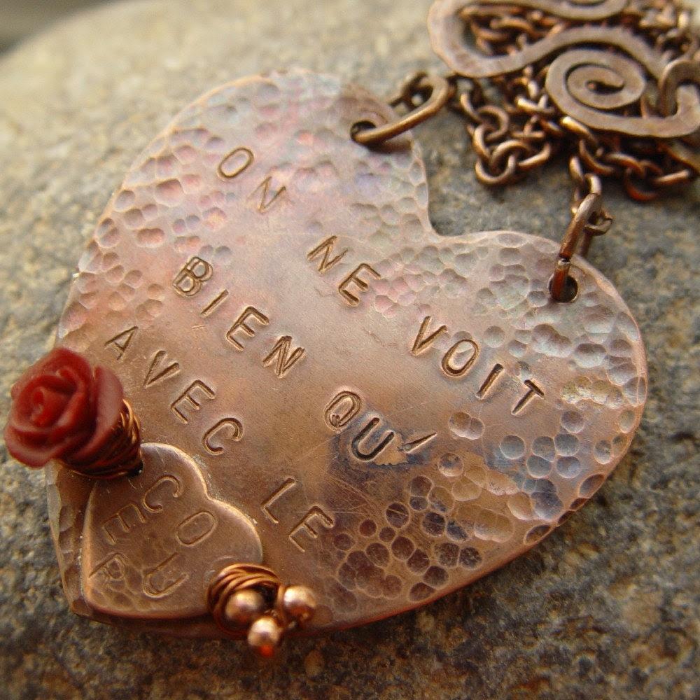 Le Petit Prnce quote necklace