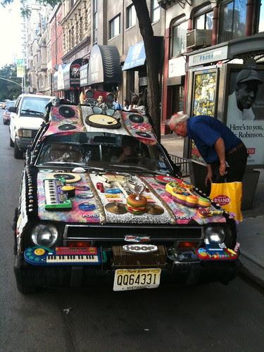 Wild car, West Village