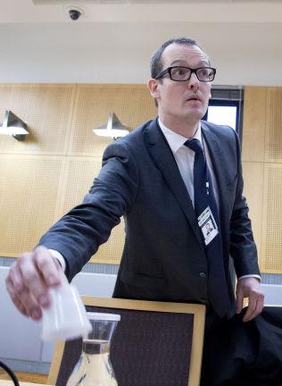 <p>ANMELDT: Politiadvokat Asmund Riegels ved seksjon for organisert kriminalitet i Oslo politidistrikt.<br/></p>