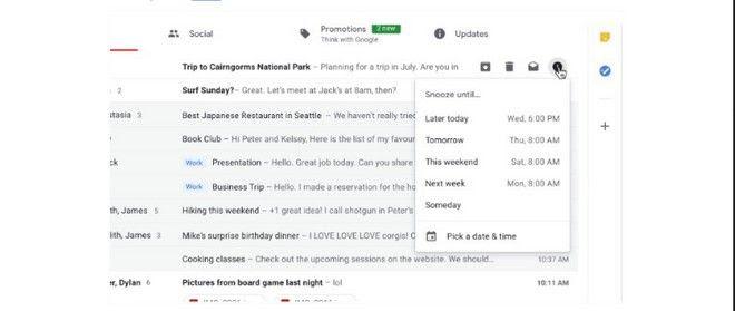 Αλλαγές στο Gmail