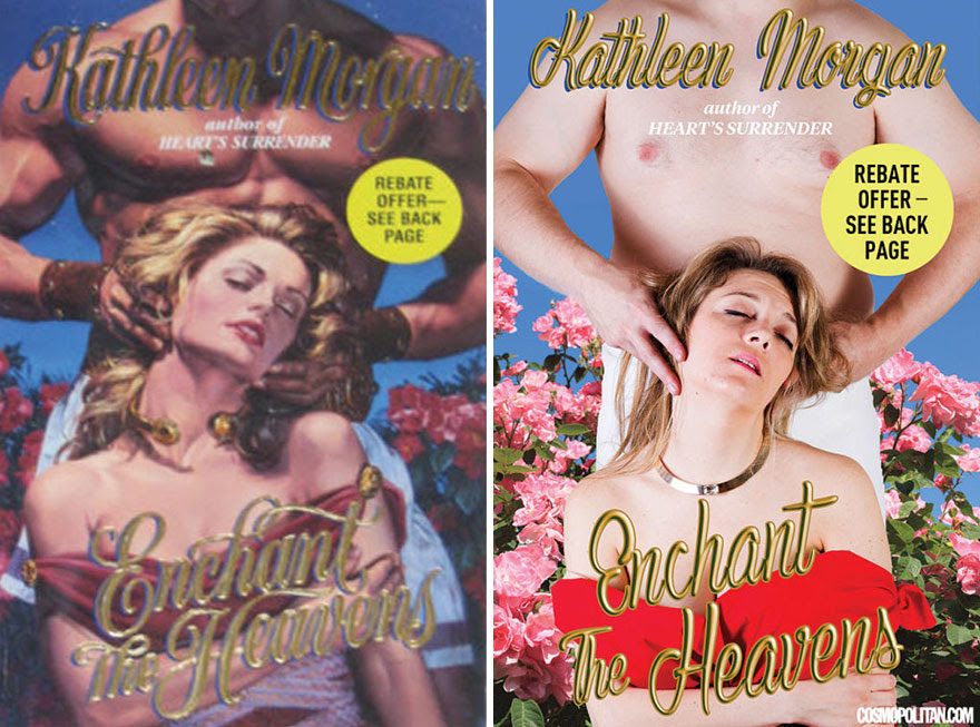 2 - 10 Pics Of Real People Hilariously Recreating Romance Novels