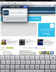Cómo crear accesos directo a tus webs favoritas en iOS, paso 4