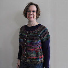 Stripey Cardi by Project Pictures