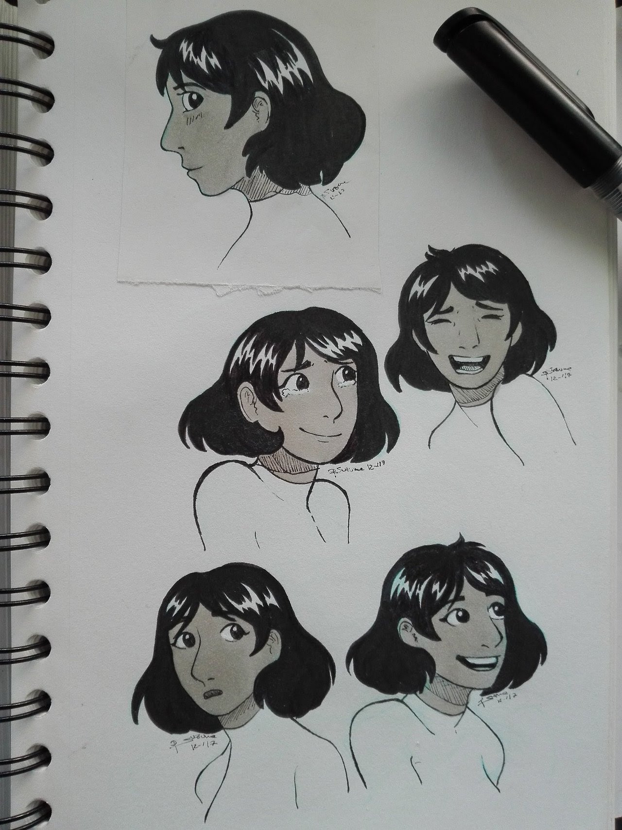 I totally love Connie's new haircut