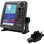 SI-TEX SVS-760CF Dual Frequency Chartplotter Sounder w-Navionics+ Flexible Coverage & Transom Mount Triducer [SVS-760CFTM]