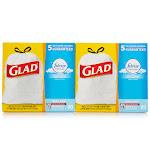 Glad Febreze OdorShield, 160ct 160 Ct. - 13 Gallon Fresh Clean Tall Kitchen Bags