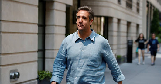 Ex-Trump lawyer Michael Cohen reaches plea deal with prosecutors