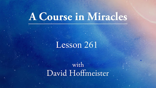 What Are We Learning in A Course in Miracles? - YouTube