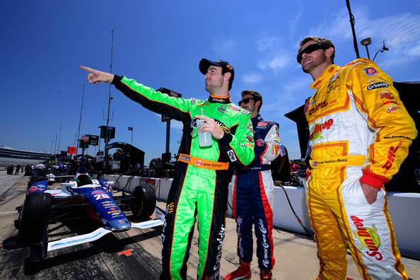 Marco Andretti and James Hinchcliffe - Texas Motor Speedway - Day 2