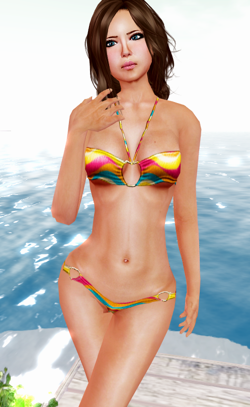 ::HH:: Hucci Tropical Wave Bikini - Beach Party