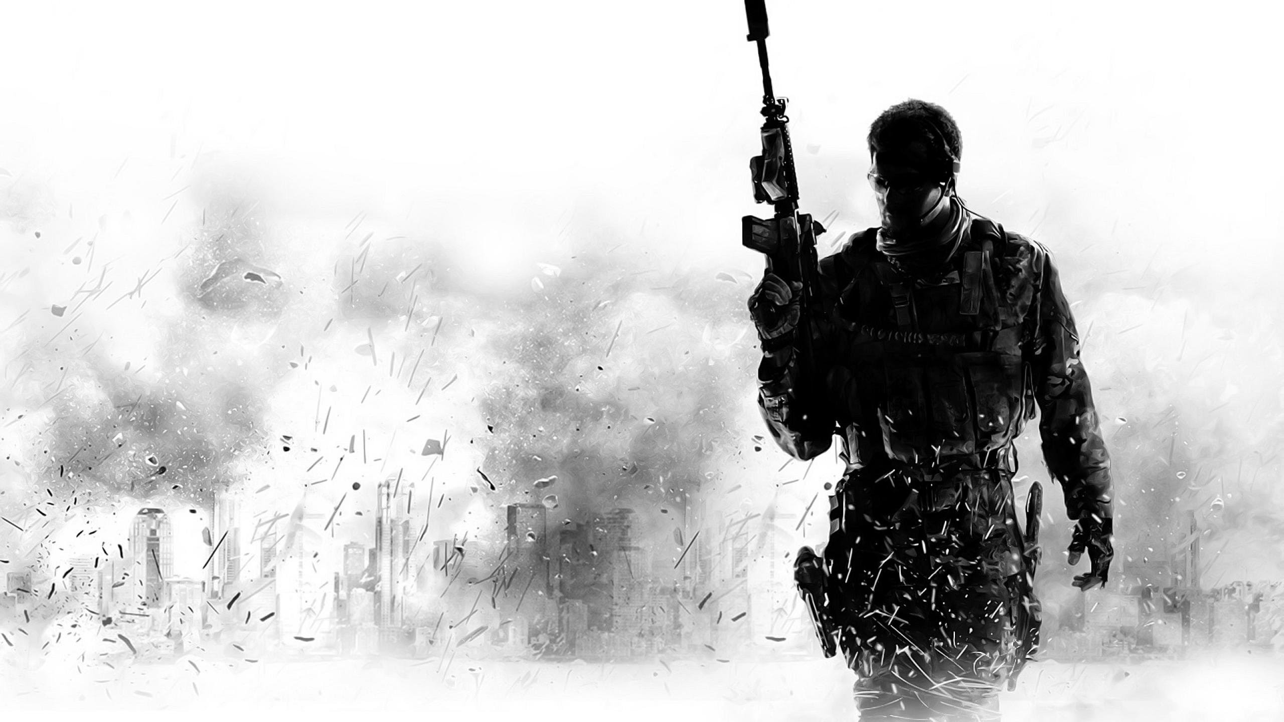 Call Of Duty Modern Warfare Wallpaper Game Wallpapers 2560x1440
