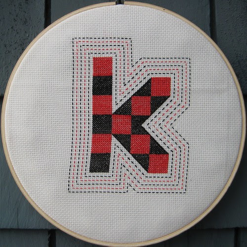 My K hoop from Ella