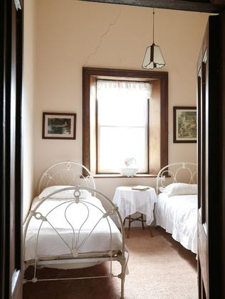Blenheim: The cosy bedrooms are remnants of a bygone era.