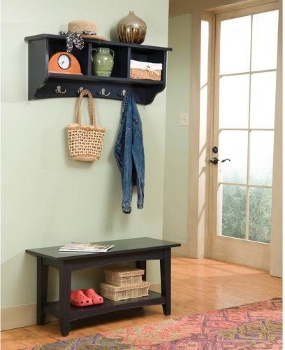 Entry Bench With Coat Rack Home Products on Houzz