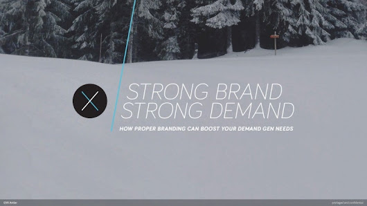 How a Strong Brand Boosts B2B Demand