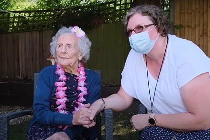 Самая старая британка раскрыла простой секрет долголетия