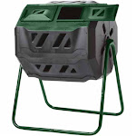 Mr.Spin 43 Gallon Dual Chamber Compost Tumbler