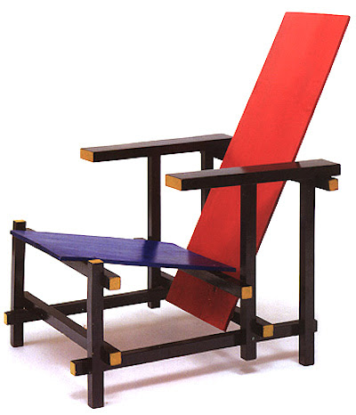 Red & Blue Chair