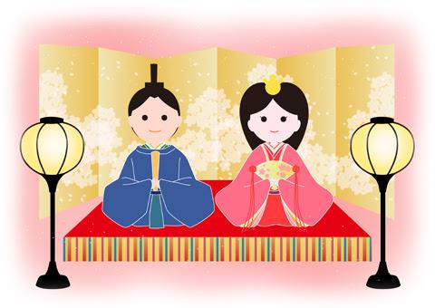 ひな祭り イラスト 彩boxcom