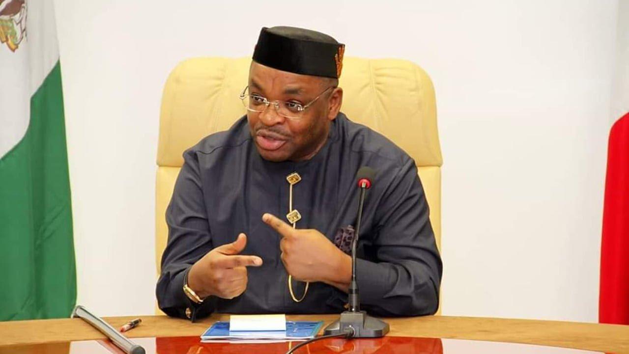 Akwa Ibom Governor, Udom Emmanuel.