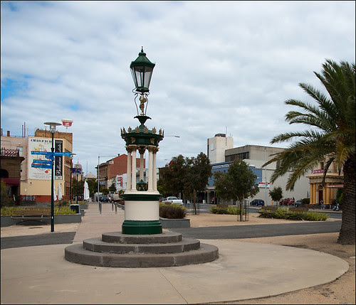 The Belcher Drinking Fountain in Geelong, Australia 2 of 6