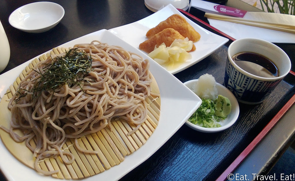 Sagami- Irvine, CA: Zaru Soba and Inari Lunch Set
