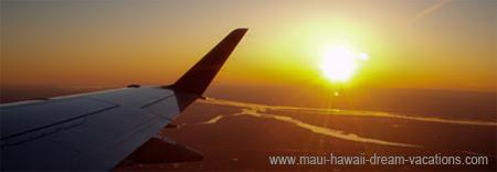 Maui Airport Sunset