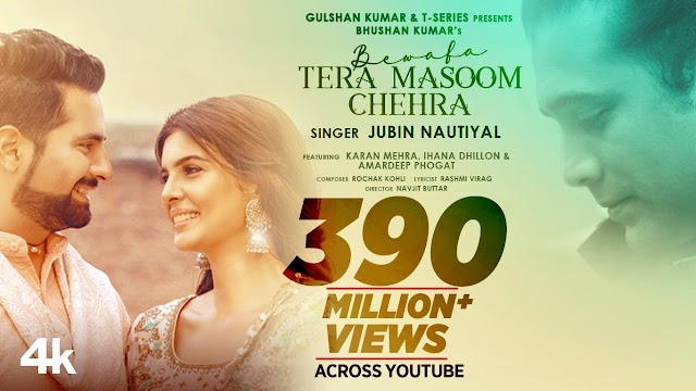 Bewafa Tera Masoom Chehra Lyrics in Hindi - Jubin Nautiyal