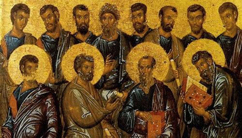 San Pedro y los apóstoles