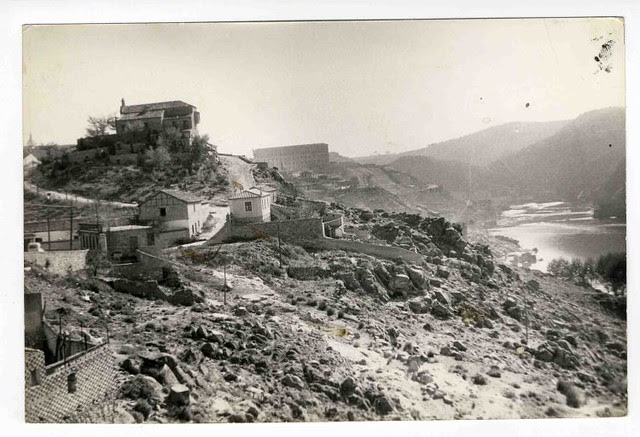 Ermita de la Cabeza hacia 1970. Colección Luis Alba. Ayuntamiento de Toledo