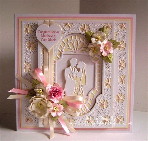 Wedding Day Card using ??Creative Expressions? / ?Sue