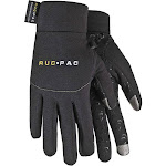 RucPac Professional Tech Gloves for Photographers, Small, Black