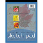 Art1st - Sketch pad - 9.02 in x 12 in - 50 sheets - white
