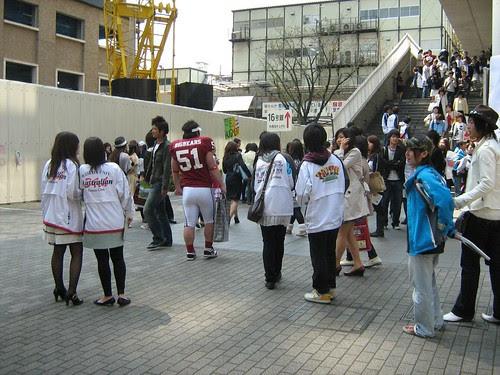 Club Recruitment Day in Waseda University 2