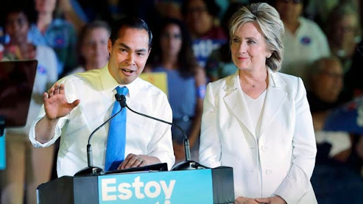 At 42, Julian Castro's youth seen as a plus and a minus for Clinton ticket