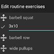 Workout routine comments and improved exercise editing (1.9.0)