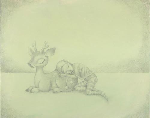 WIP 1 - Reindeer & Elf