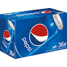 Pepsi - 36 pack, 12 fl oz cans