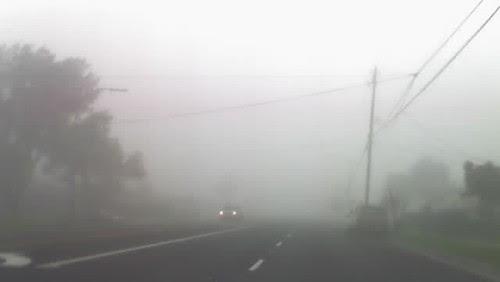 no visibility