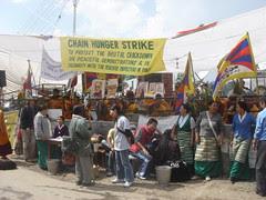 chain hunger strike