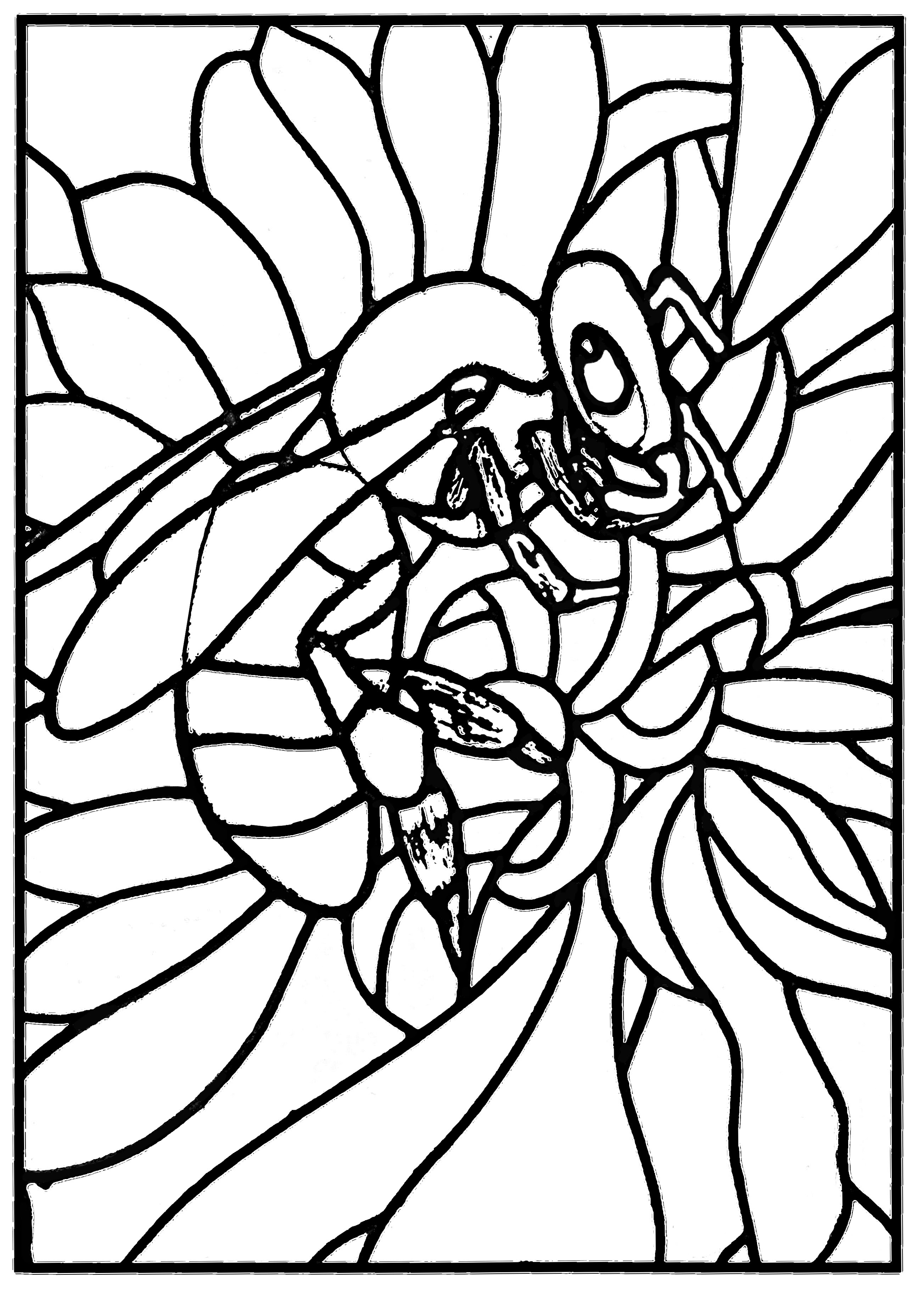 Stained glass bee workshop jb tosi 2010 - Stained Glass ...