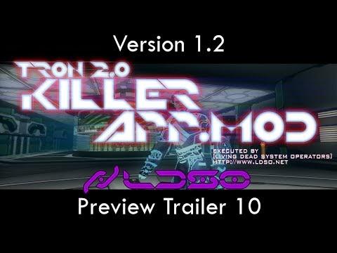 TRON 2.0: Killer App Mod v1.2 Preview Trailer 10 - Demonstrating Single Player Fixes
