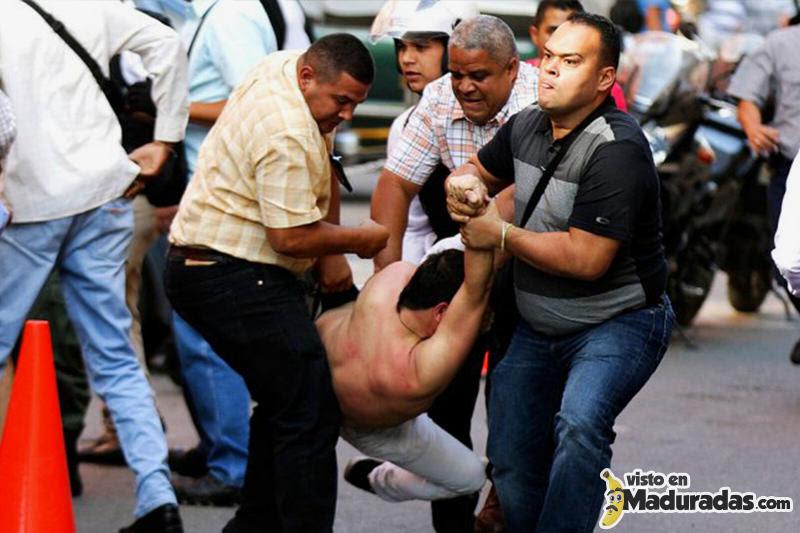 heridos y fallecidos en protestas en venezuela