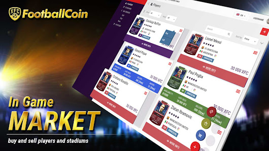Introducing the FootballCoin In-Game Market