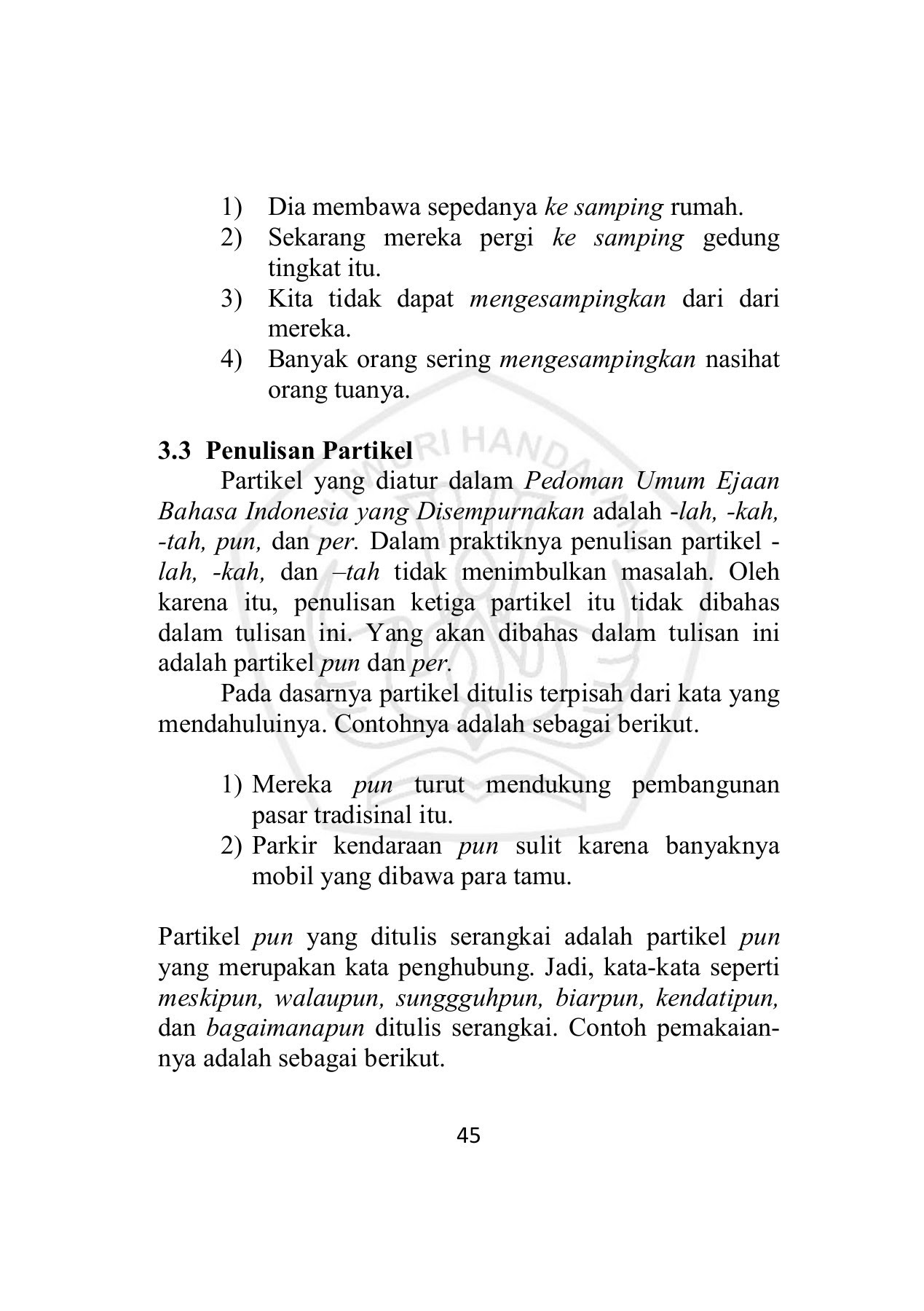 01 Sriyanto 2015 Ejaan Seri Penyuluhan Bahasa Indonesia Pages 51 100 Text Version