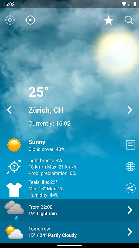 Weather XL PRO –  - great iOS and Android apps !