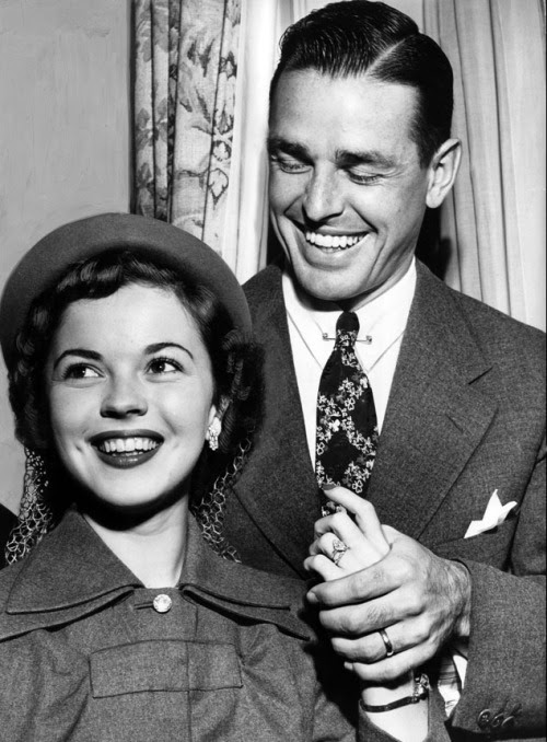 Shirley Temple and Charles Black, 1950s.