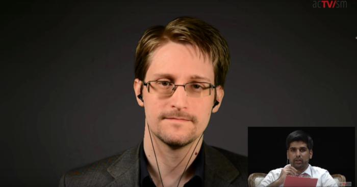 Edward Snowden - München